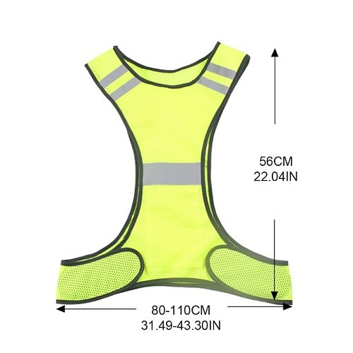 Outdoor Night Riding Running Reflective Vest Safety Safety Sports Vest 964B