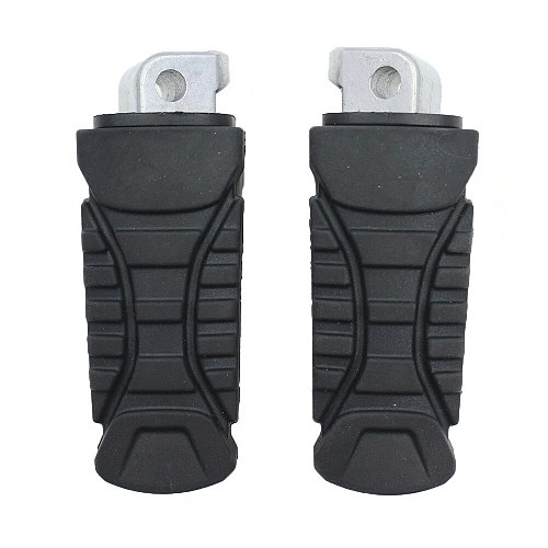 Motorcycle Rear Footrest Footpeg + Rubber Cover Foot Pegs For BMW K49B S 1000 XR 2014-2019 K18 C 600/C 650 Sport 11-19