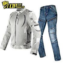 Summer Women Man Motorcycle Jacket Reflective Chaqueta Moto Breathable Mesh Moto Motorbike Riding Jacket Protective Clothing