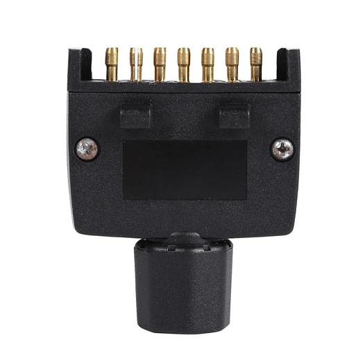 7 Pin AU Flat Male Trailer Socket Plug Connector Adapter for Caravan RV Trailer Provide Connection of Indicator Side Lamp