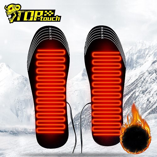 Motorcycle Boots Heated Insole USB Heating Insole Winter Heated Foot Pad Warm Socks Pads Outdoor Sports Heating Boots Insole ##