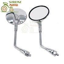 Rear View Rearview Side Mirrors For Honda CB500 CB750 CB1100 CB1000 CB1300 VT750 SHADOW CHROME 400 VT750C VLX Steed VT600