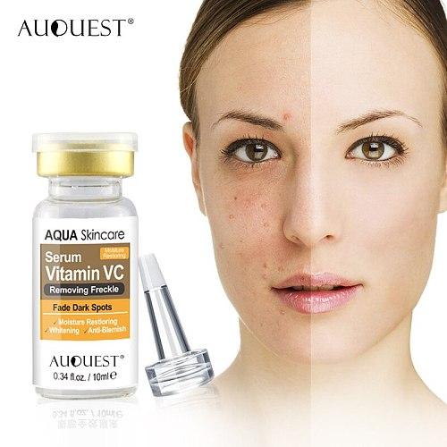 AuQuest Face Serum  Series Hyaluronic Acid Vitamin C Eye Care Serum Anti-wrinkle Anit-aging Whitening Moisturizing Skin Care
