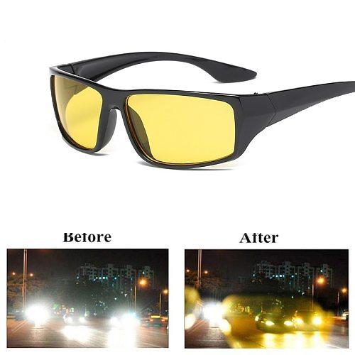 Car Anti-Glare Night Goggles Sunglasses Motorcycle Driving Glasses Night-Vision Glasses Protective UV400 Drivers Goggles