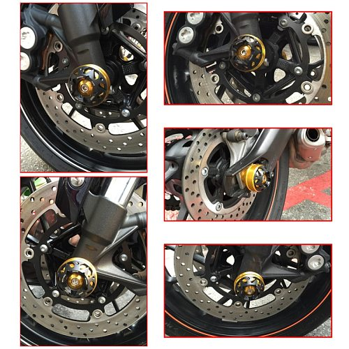 MTKRACING Front and Rear Axle sliders Fork wheel protection Crash pad kit For YAMAHA XSR 700 900 XSR700 XSR900 2015-2020