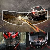 2021 New Universal Motorcycle Helmet Clear Rainproof Film Anti Rain Patch Screen for K3 K4 AX8 LS2 HJC MT Helmets
