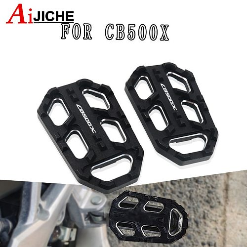 For HONDA CB500X CB 500X 2015 2016 2017 2018 2019 Motorcycle Accessories CNC Foot Peg Pedal Footrest Extension Footpeg Enlarger