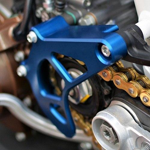 For Husqvarna 701 Enduro SM 2016 2017 2018 2019 20 21 KTM 690 Enduro R Front Sprocket Cover Case Saver Protector Chain Guard