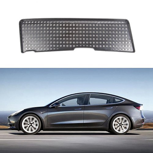 Car Engine Air Flow Vent Cover Moulding Protector for Tesla Model 3 2021 New
