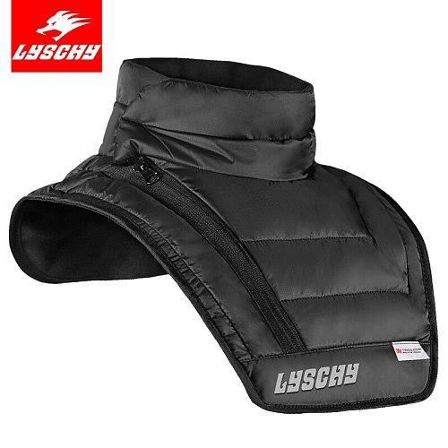LYSCHY Full Neck Protectors Guard Motorcycle Racing Helmet Brace Windproof Warm Ski Cycling Fleece Balaclava Moto Face Mask