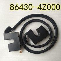 For hyundai  Santafe  Santa fe  Engine hood sealing strip, engine cover sealing strip, deflector waterproof strip 864304Z000