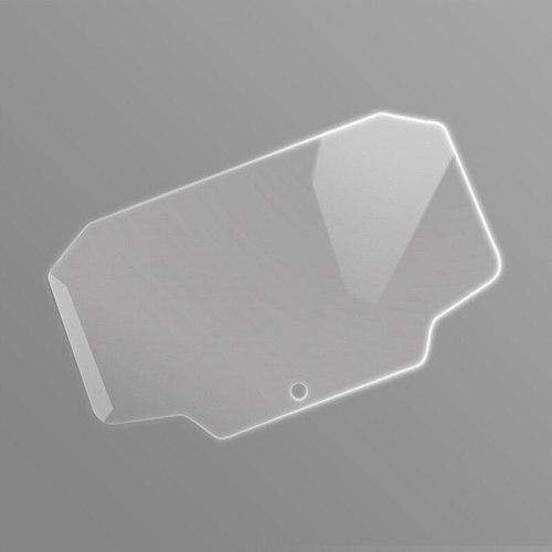 Motorcycle Cluster Scratch Protection Film Screen Protector for Kawasaki Z650 L41C