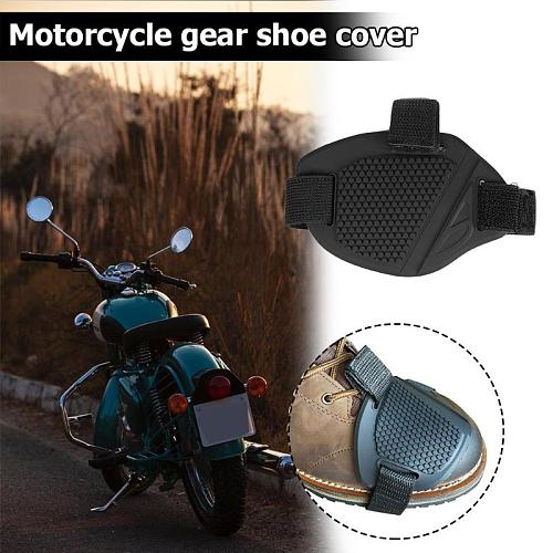 Universal Motorcycle Shoes Protective Moto Gear Shifter Boots Protector Rubber Sock Pad Cover Anti-slip Guards