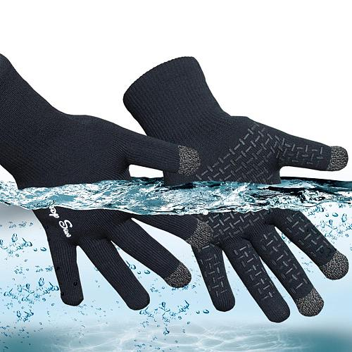 RANDY SUN Touch Screen Cycling Waterproof Motorcycle Gloves Outdoor Sports  Gardening Driving Fishing Boating Windproof Glove