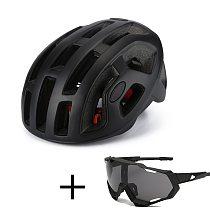 Bicycle Road Helmet EPS+PC Men's Ultralight MTB Outdoor Mountain Bike Comfort Cycling Helmets Safety Cycle Bike Equipment