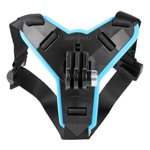 VODOOL Motorcycle Helmet Chin Stand Mount Holder for GoPro Hero 9 8 7 6 5 4 3 for Xiaomi Yi Action Camera Full Face Holder