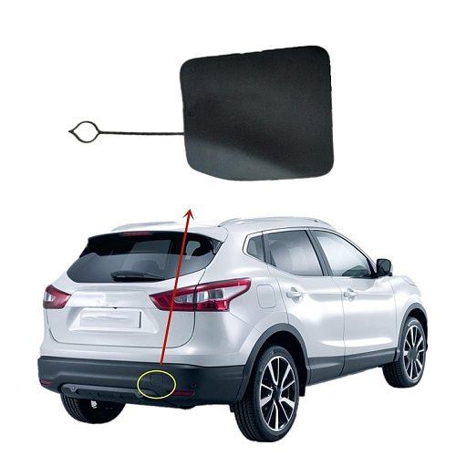 for Nissan Qashqai J11 2015-2018 85071-DF30A Rear Bumper Tow Hook Eye Cover Trim Trailer Cover Cap