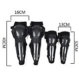 Motorcycle Protective Racing Gear Knee/Elbow Guards Protector Pads