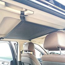 Car Net Pocket Storage Ceiling Roof Cargo Net in The Trunk Interior Bag For Auto Container Universal Multifunction Accessories