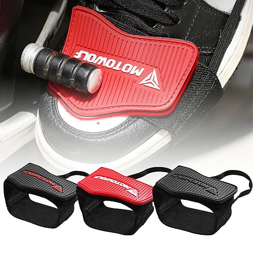 1PCS Motorcycle Shoes Protective Moto Gear Shifter Men Shoe Boots Protector Shift Sock Boot Cover Shifter Guards R1200GS R1250GS