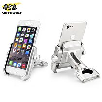 MOTOWOLF motorcycle modified phone holder AL top quality very cool styling NOT THE cheap thing