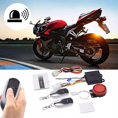 9-12V ebike Motorcycle Alarm Control System Anti-theft Security Alarm System Intelligent Electric Bicycle Alarm System kit 2Keys