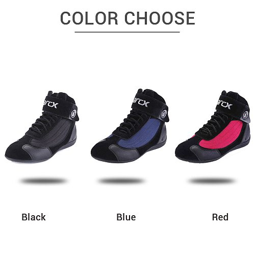 ARCX Motorcycle Boots Botas Moto Men Motocross Shoes Motorbike Biker Chopper Cruiser Touring Ankle Shoes With Tuning Knob
