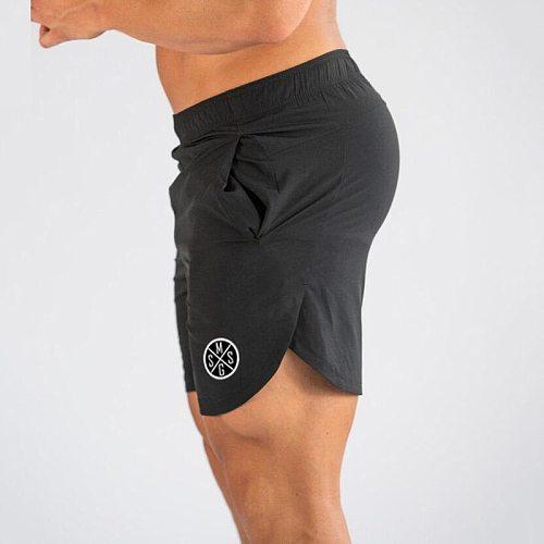 VQ FITNESS Summer Sports Shorts pocket running shorts Men Gym Fitness training Run Jogging Shorts Sweatpants Short Pants Outdoor