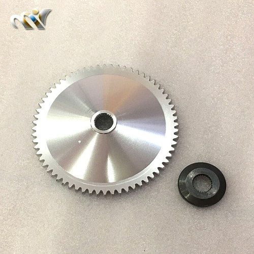 Free Shipping taiwan TWH aluminum Fan Variator Racing Scooter Variator CNC for GY6 50 80 139QMB/QMA ZX Dio 50 Scooter Moped
