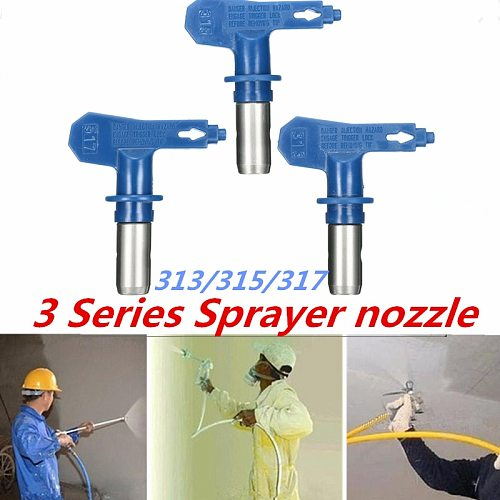 Blue Series 3 Airbrush Nozzle For Painting Airless Paint Spray G un Tip Powder Coating Portable Paint Sprayers auto repair tool