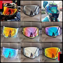 new 7 Colors Electroplating red silver black blue Motorcycle Full Face Helmet Visor Lens case for AGV K1 K3SV K5 Helmet lens
