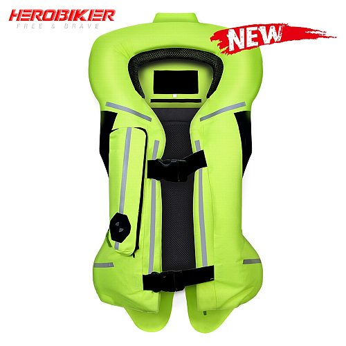 NEW Reflective Jacket Motorcycle Air Bag Safety Vest Reflective Jacket Airbag Moto Professional Advanced Reflective Clothing