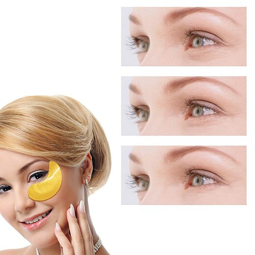 60 Pcs Eye Patches Mask Under Eye Collagen Face Skin Care Hyaluronic Acid Gel Anti-Wrinkle Remove Dark Circles Eye Bag