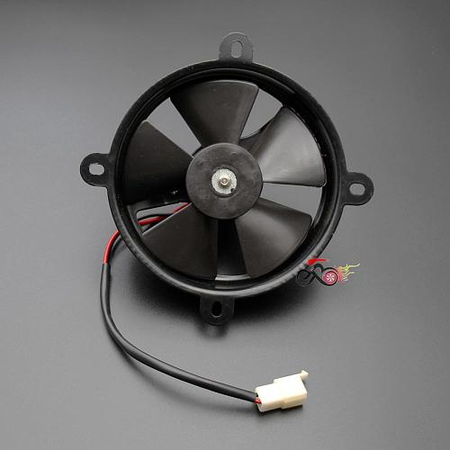12V 6  Inch Radiator Thermo Electric Cooling Fan For 150cc 200cc 250cc Quad Dirt Bike ATV Buggy