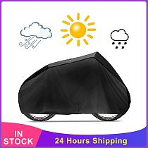 Waterproof Bicycle Cover Anti UV Dust Bike Rain Cover Storage Bag Sunshine Protective Outdoor Riding Accessories