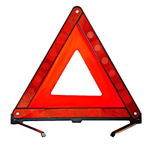 Tripod Triangle Warning Reflective Safety Sign Vehicles Breakdown Packing Sign Car Hazard Breakdown stand Emergency Parking Rack