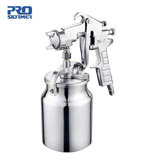 Pneumatic Air Paint Spay Gun Professional Mini Air Brush Alloy Sprayer For Car Auto Repair Tool Painting Kit By PROSTORMER