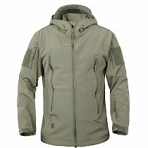 Shark Skin Soft Shell V4 Outdoors Military Tactical Jacket Men Waterproof Windproof Coat Hunt Camouflage Army Clothing