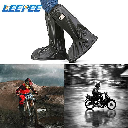 Motorcycle Scooter Bike Rain Shoes Cover Reusable Non-Slip Boot Covers For Rainy Day Unisex Waterproof and Windproof Shoe Covers