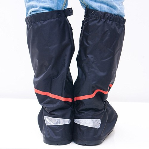 With Relectors Waterproof reusable Motorcycle Cycling Bike Rain Boot rain Covers Easy to ride for rider