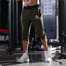 Men's shorts sports casual running shorts gym fitness bodybuilding shorts men's sports training fitness five points shorts