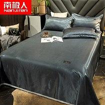 Summer Viscose Fiber Mat Three-Piece Summer 1.5M Bed Sheet Air Conditioning Soft Mat Washable Cool Bed Sheet