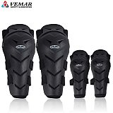 VEMAR Motorcycle Protective knee Pads Cycling MTB MX Authentic Motocross Knee Elbow Protector Moto Driver Racing Guard Gear Pads