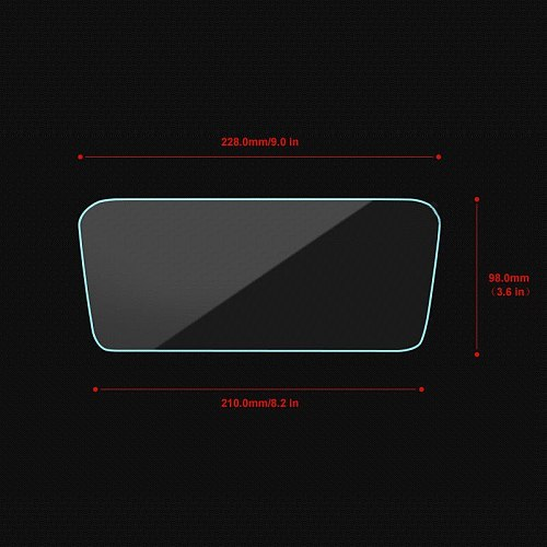 1Pc Steel Screen Protective Film For Mazda Cx-5 Cx5 Cx 5 2017 Car Gps Navigation Tempered Glass Screen Protector Stick