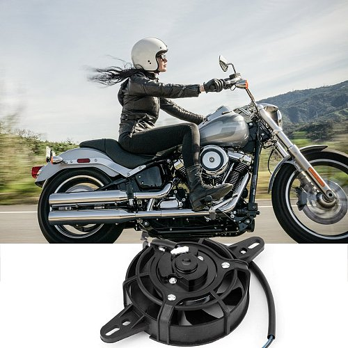 200CC 250CC ATV motorcycle modified electric radiator cooling fan Oil Cooler Water Cooler Electric Radiator Cooling Fan