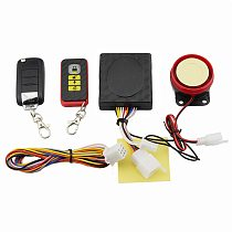 Motorcycle Security Alarm System Anti-Hijacking Cutting Off Remote Engine Start Arming Disarming Scooter Bike Anti-theft Alarm