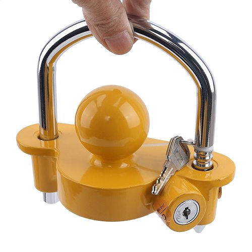 New Universal Anti-Theft Lock Hitch Coupling Lock Trailer Parts