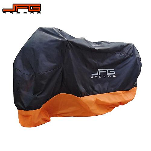 Motorcycle Cover Universal Outdoor UV Protector Scooter All Season Waterproof Bike Rain Dustproof Scooter Cover M L XL 2XL 3XL