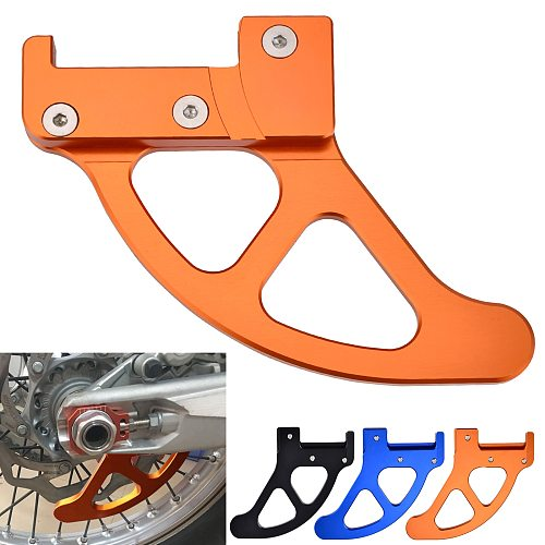 Rear Brake Disc Guard Protector For KTM 125 200 250 300 350 400 450 525 530 EXC EXCF SX XC XCW Husqvarna Husaberg FE TE FC TC