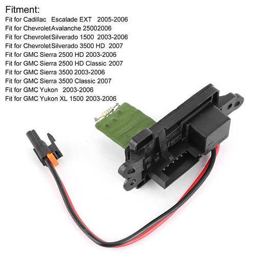 Engine Bonnets Blower Motor Resistor 89019088 Fit for Chevrolet Avalanche/Silverado/Tahoe/Suburban hood scoop